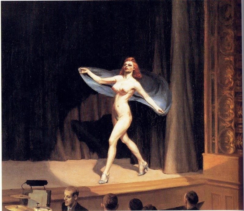 Edward Hopper Girlie Show