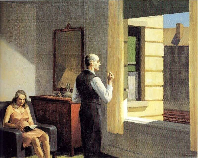 Edward Hopper Hotel by the Railroad