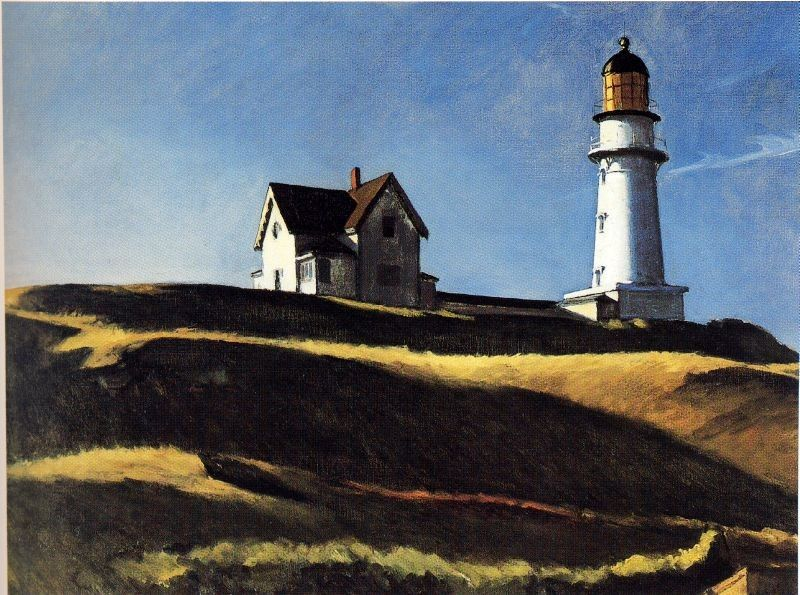 Edward Hopper Lighthouse Hill