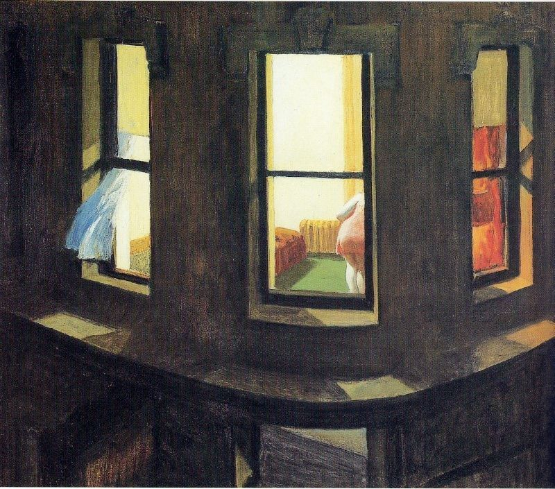 Edward Hopper Night Windows