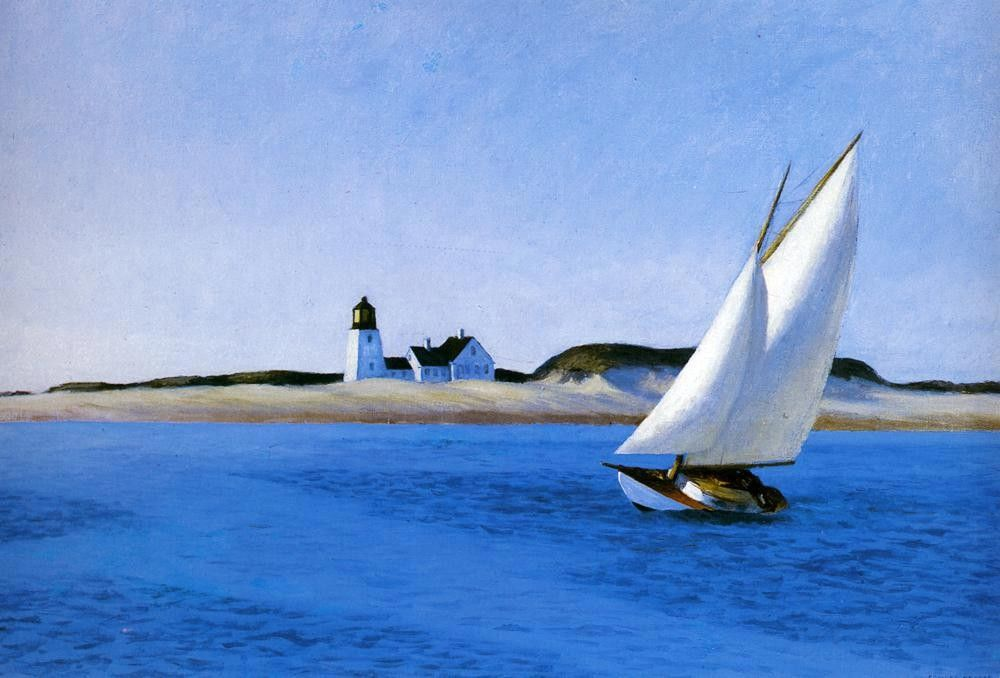 Edward Hopper The Long Leg