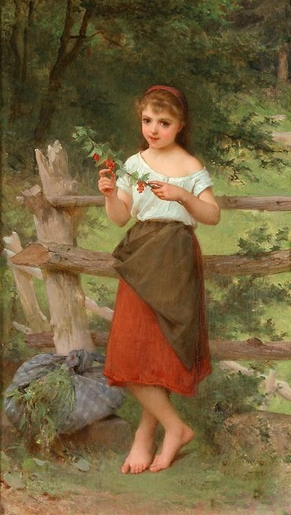Emile Munier Contemplation