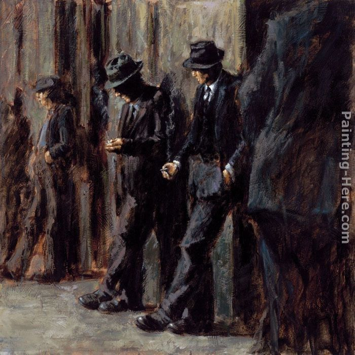 Fabian Perez The Old and the New Boss