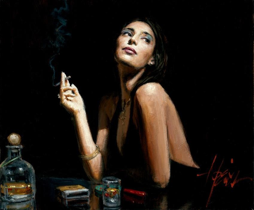 Fabian Perez The Singer