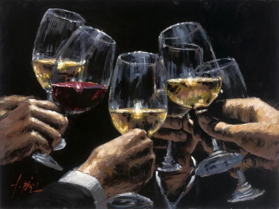 Fabian Perez White Red
