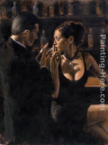 Fabian Perez when the story begins