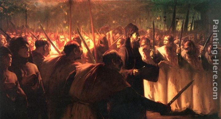 Fausto Zonaro The 10th of Muharram