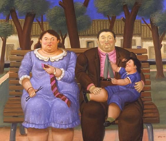 Fernando Botero In The Park