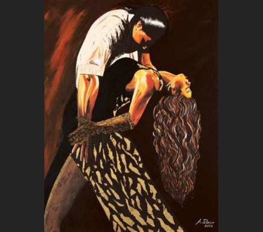 Flamenco Dancer Averil Elaziz Just Tango