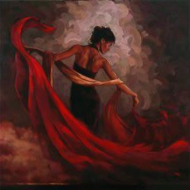 Flamenco Dancer Burning Desire