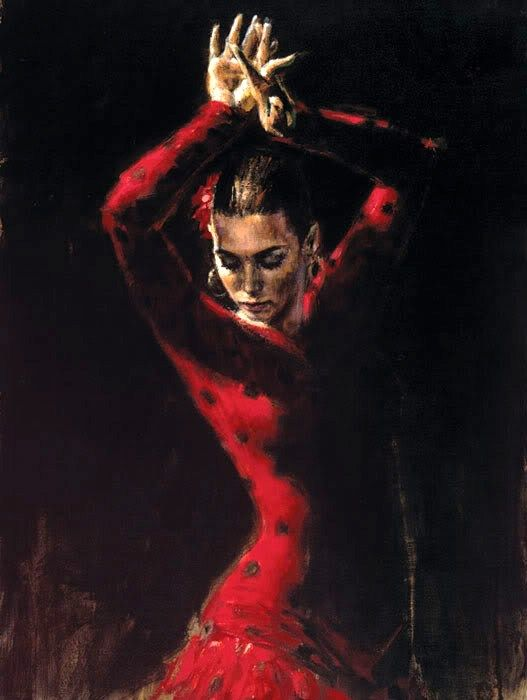 Flamenco Dancer Lunaresnegros ii