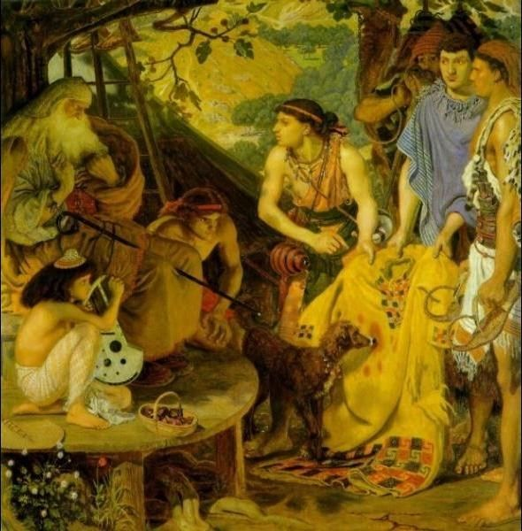 Ford Madox Brown The Coat of Many Colors