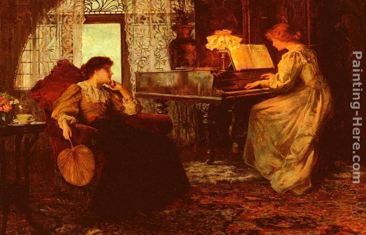 Francis Sidney Muschamp The Piano Lesson