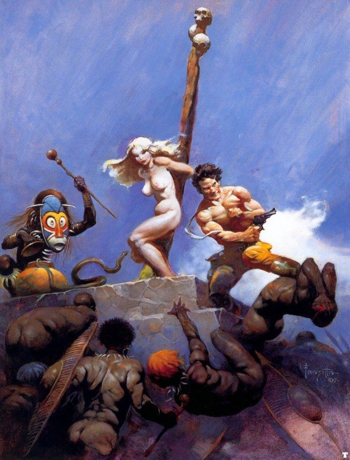 Frank Frazetta Desperation
