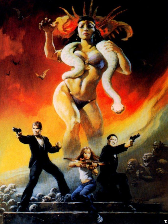 Frank Frazetta From Dusk til Dawn