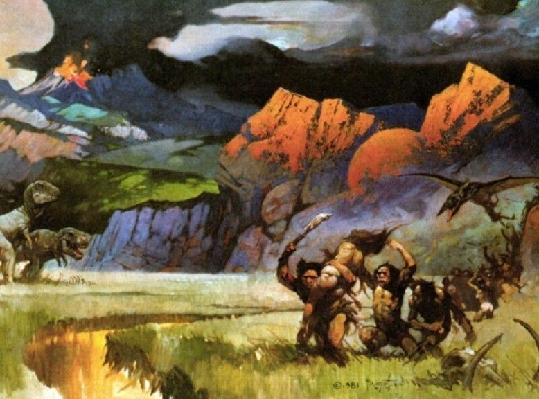 Frank Frazetta Savage World