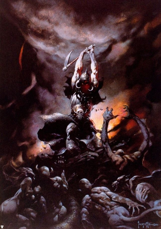 Frank Frazetta The Death Dealer II