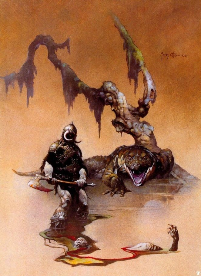 Frank Frazetta The Death Dealer IV