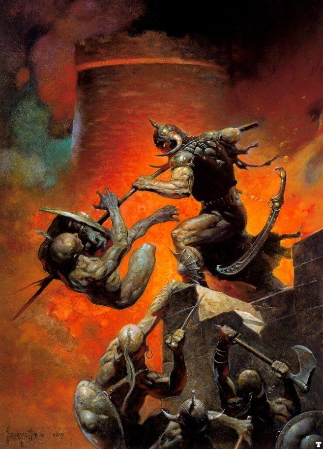 Frank Frazetta The Death Dealer V