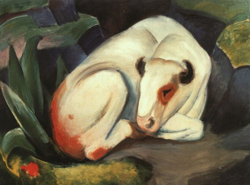 Franz Marc The Bull