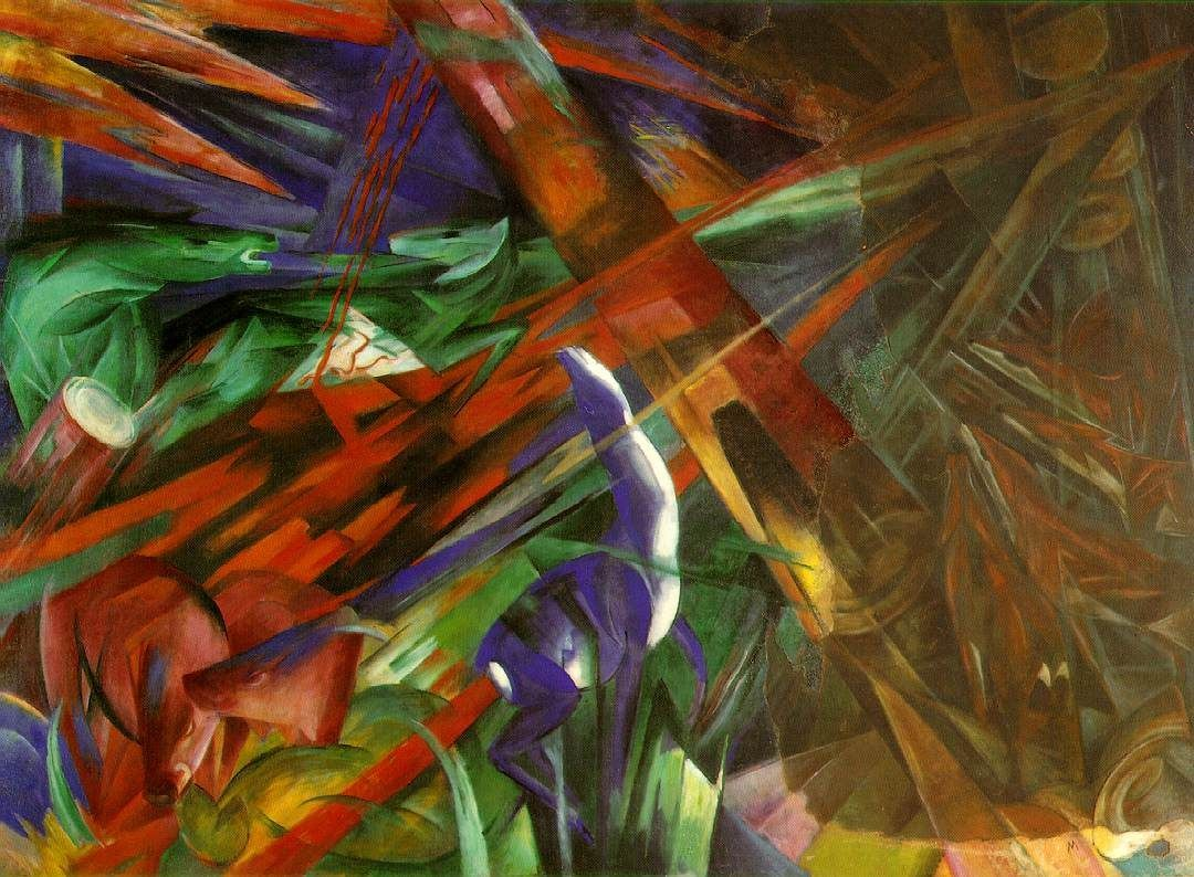 Franz Marc fate animals