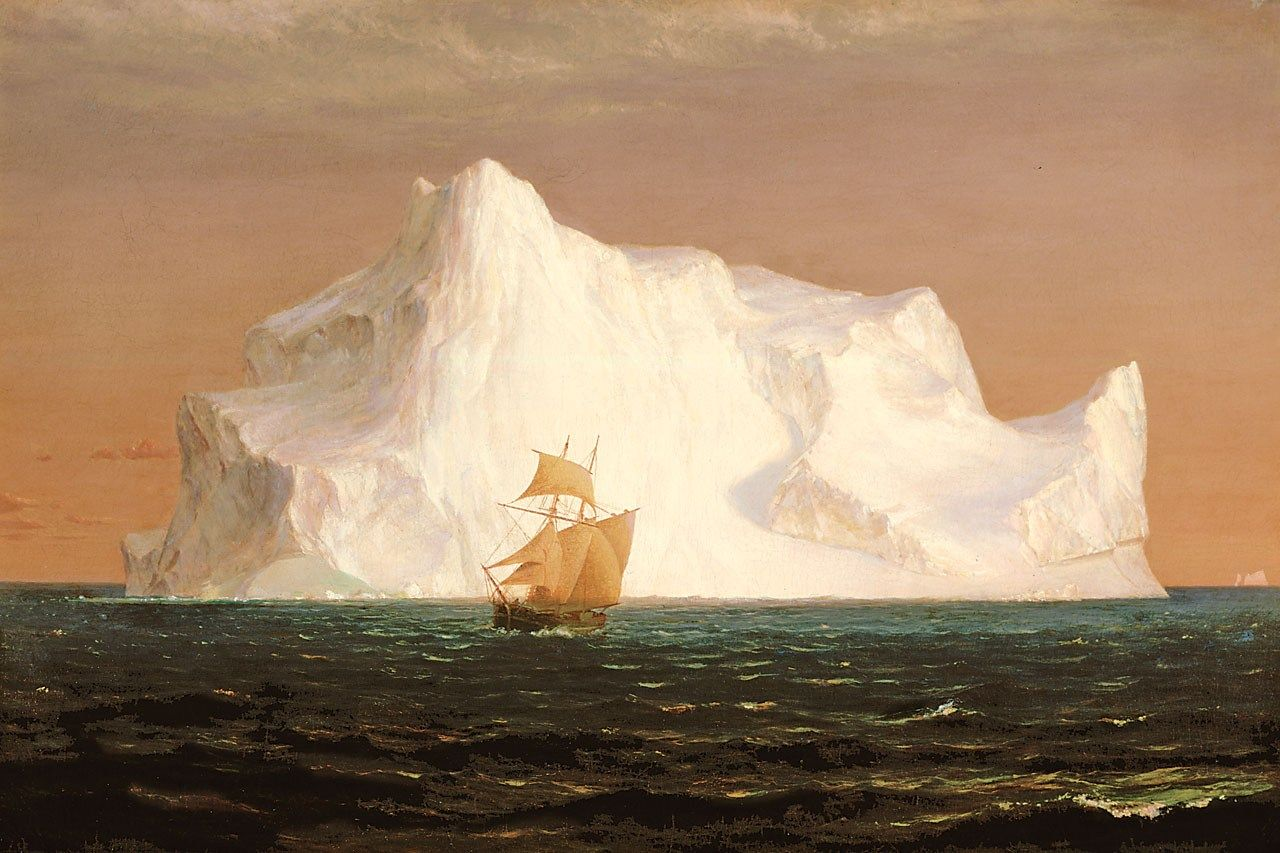 Frederic Edwin Church The Iceberg