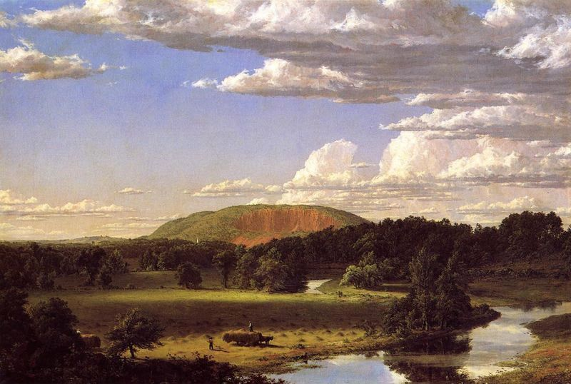 Frederic Edwin Church West Rock, New Haven