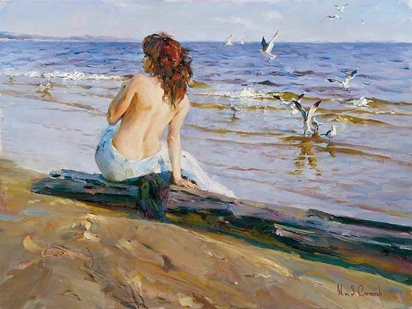 Garmash Beauty on the Shore