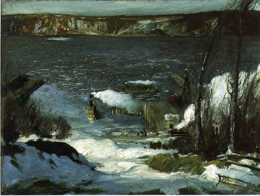 George Bellows North River