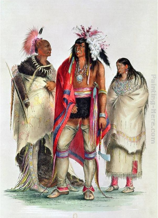 George Catlin North American Indians, circa