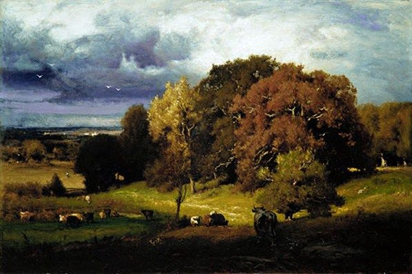 George Inness Autumn Oaks