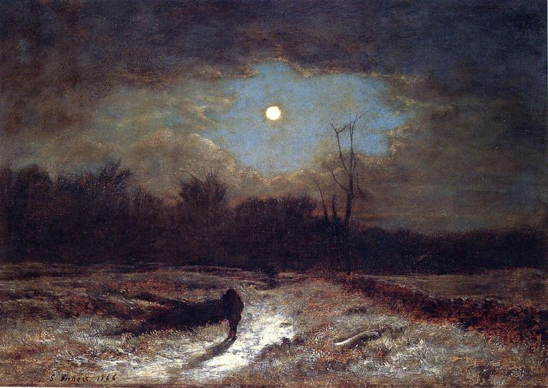 George Inness Christmas Eve