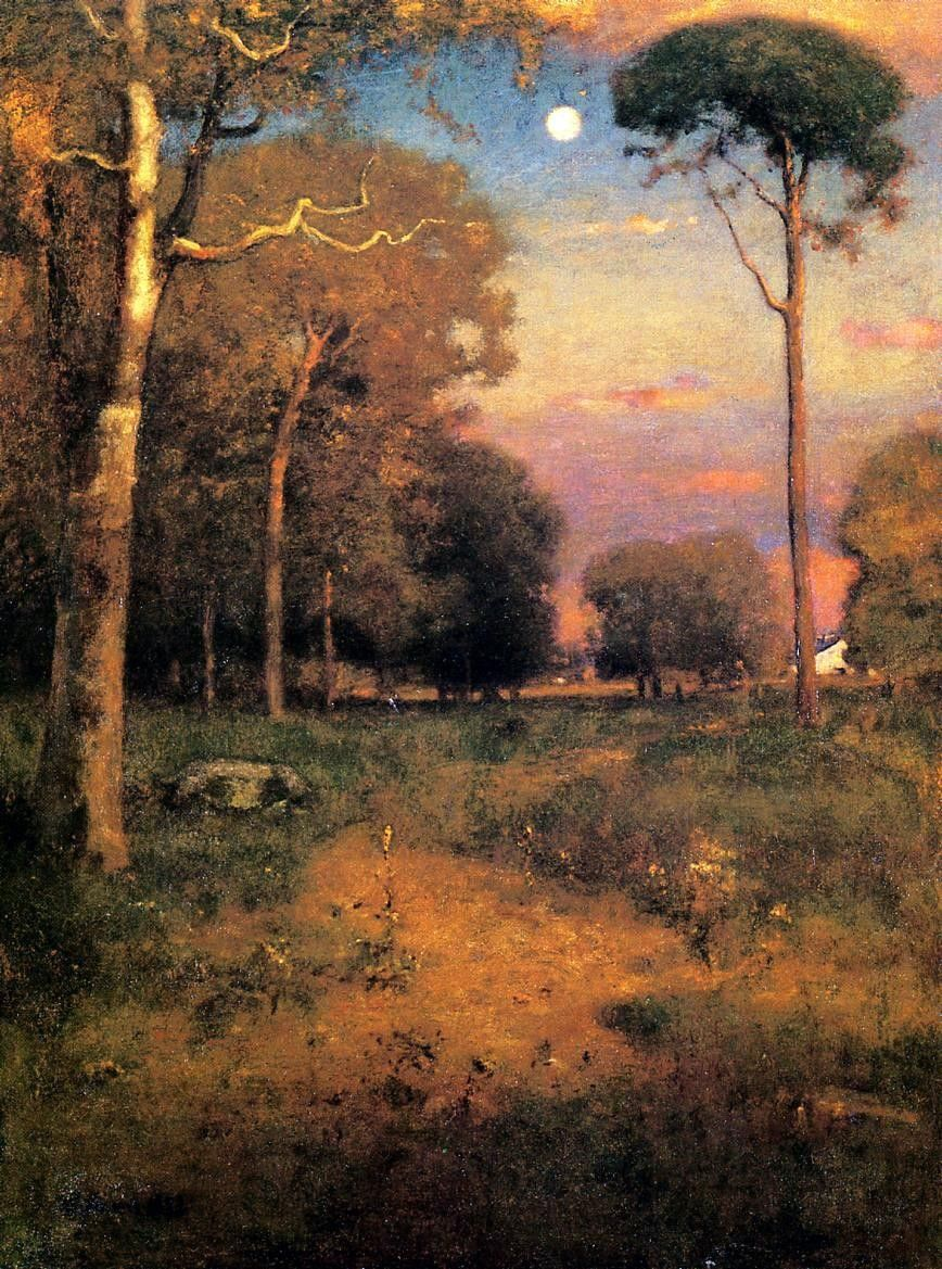 George Inness Early Moonrise Florida