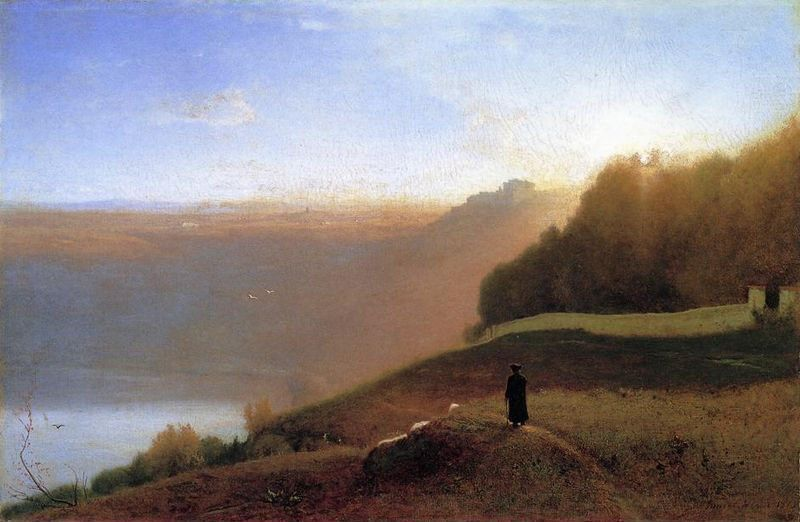 George Inness Lake Nemi