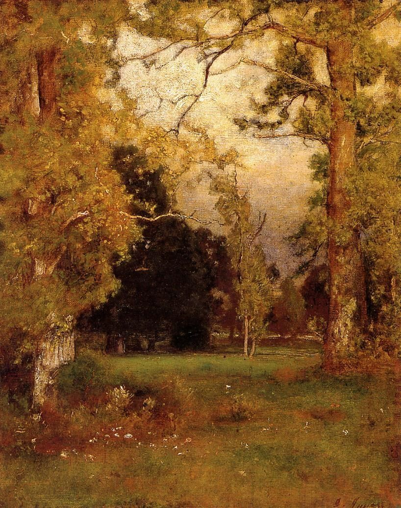 George Inness Late Afternoon