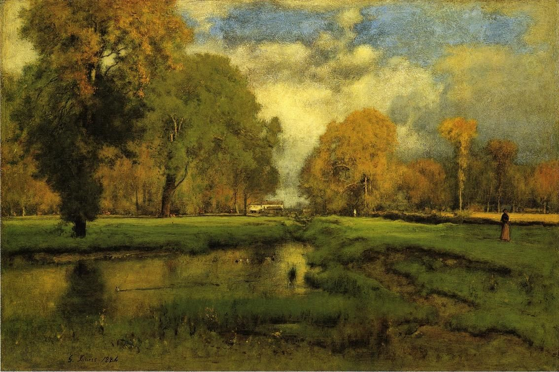 George Inness October