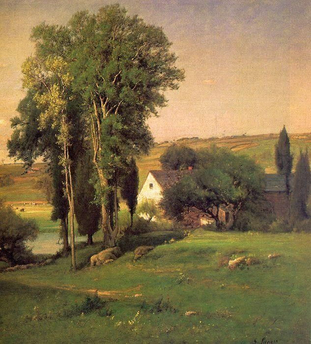 George Inness Old Homestead