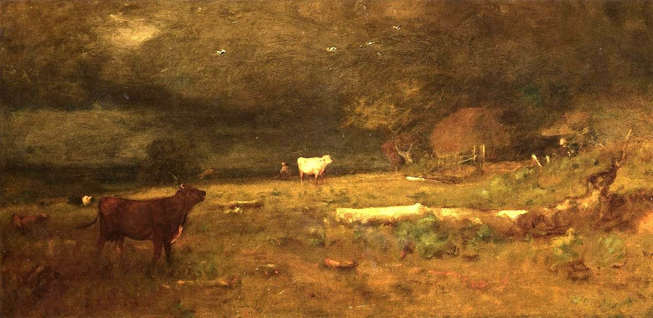 George Inness The Coming Storm