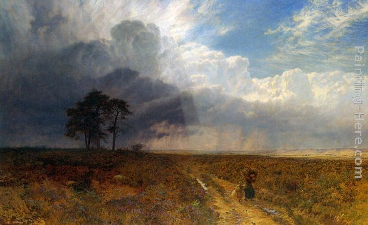 George Vicat Cole The Coming Storm