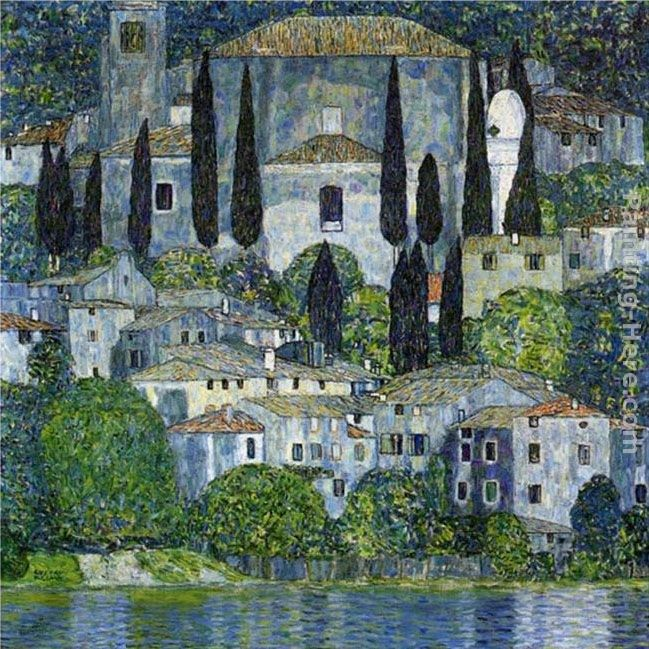 Gustav Klimt Church in Cassone