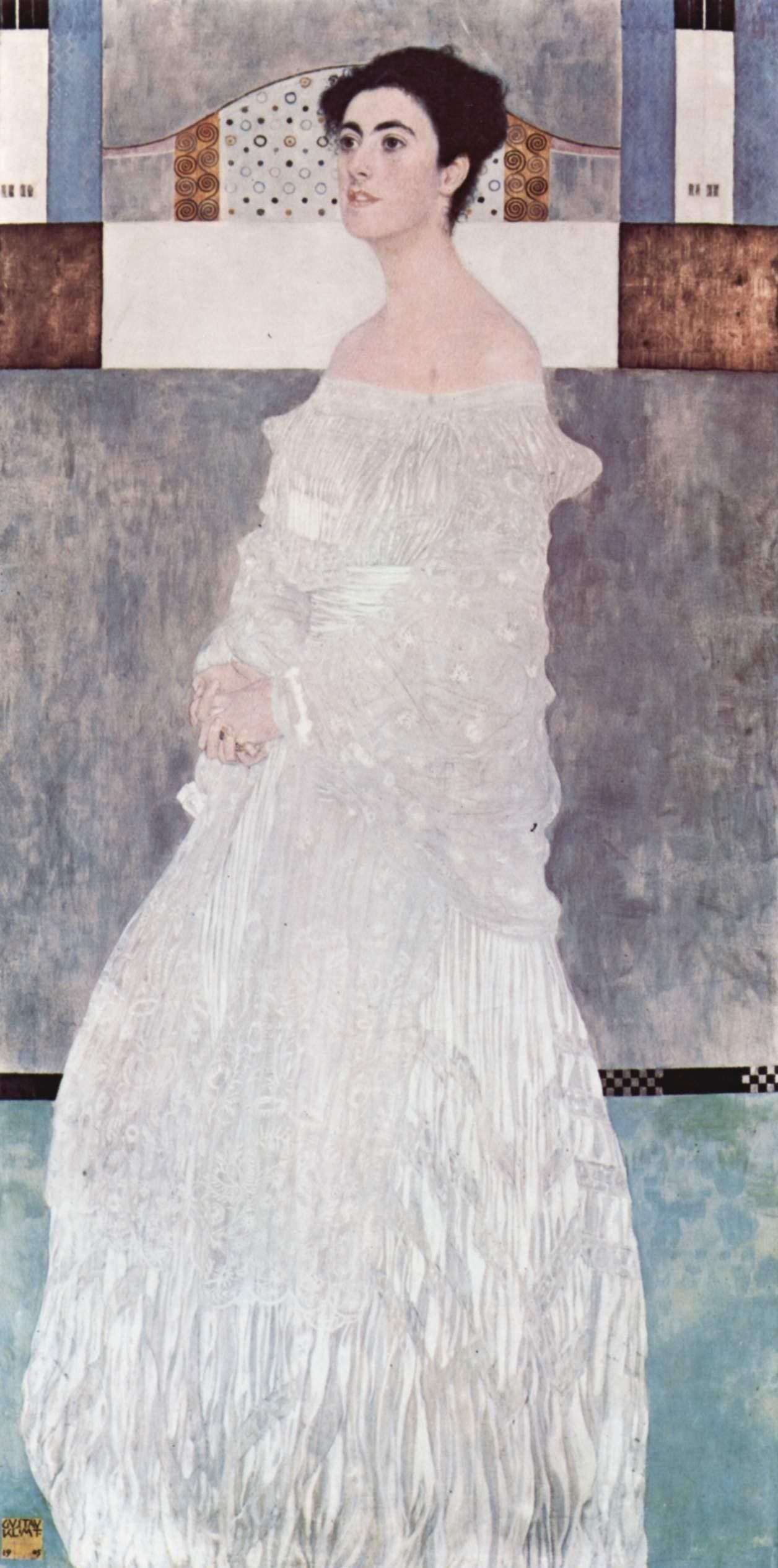 Gustav Klimt Portrait of Margaret Stonborough Wittgenstei