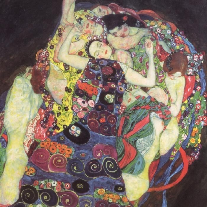 Gustav Klimt The Virgins (Le Vergini)