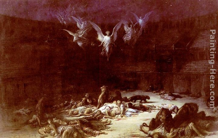 Gustave Dore The Christian Martyrs