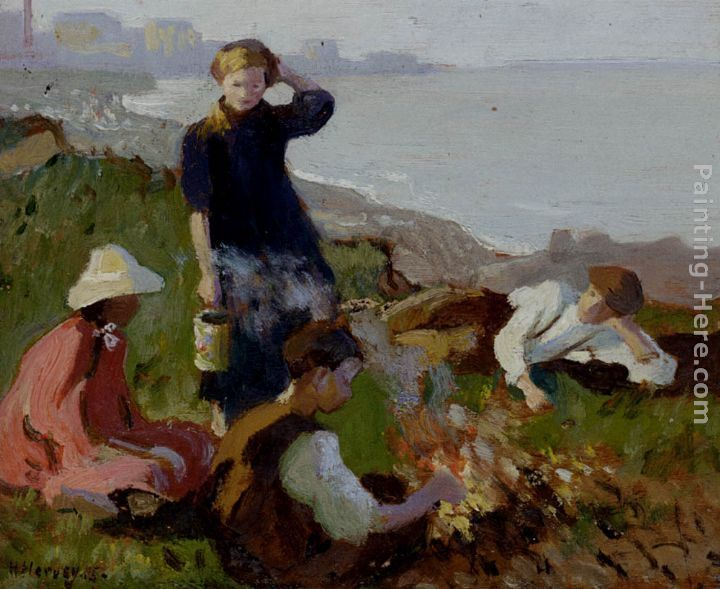 Harold Harvey The Bonfire