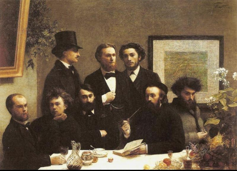 Henri Fantin-Latour Corner of the Table
