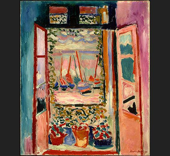 Henri Matisse Open Window Collioure