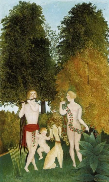 Henri Rousseau Happy Quartet