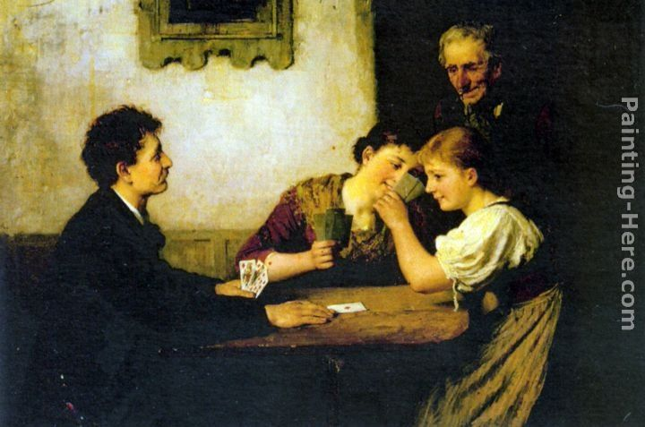 Hugo Oehmichen The Card Game