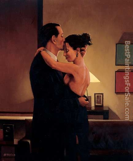 Jack Vettriano Betrayal No Turning Back 2001