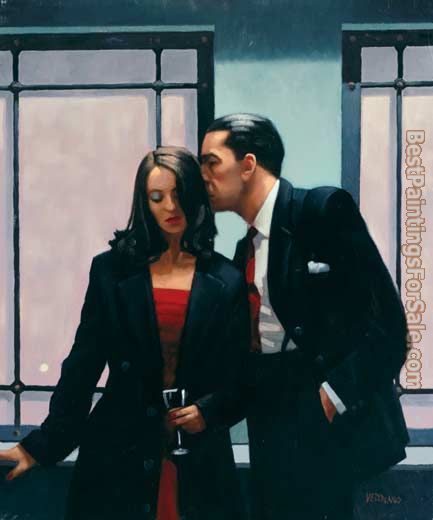 Jack Vettriano Contemplation of Betrayal 2001